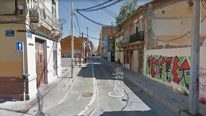 Barrio del Cabanyal de València.