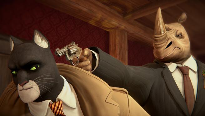 Imagen del videojuego Blacksad. Under the skin