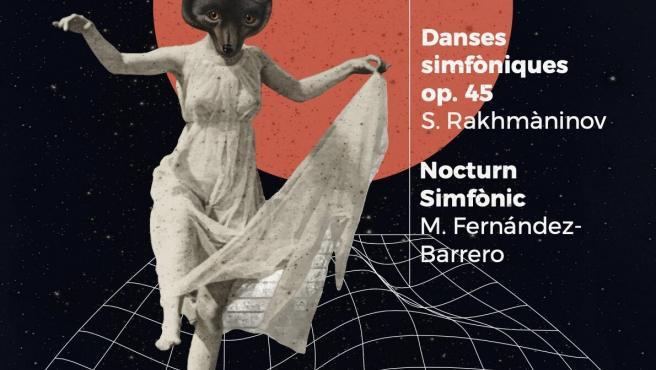 Cartel del cuarto concierto de la Orquesta Sinfónica de Baleares que protagonizará el trompetista Manuel Blanco