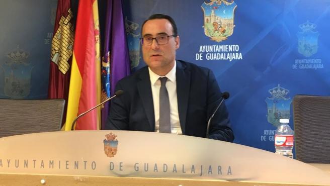 Concejal de Vox en Guadalajara.