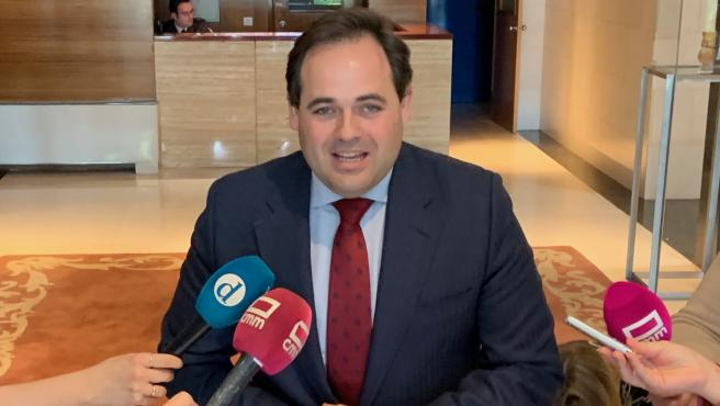 El presidente del PP de Castilla-La Mancha, Paco Núñez