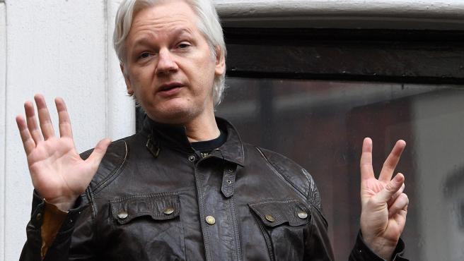 Julian Assange, fundador de Wikileaks , en una imagen de archivo de 2017.