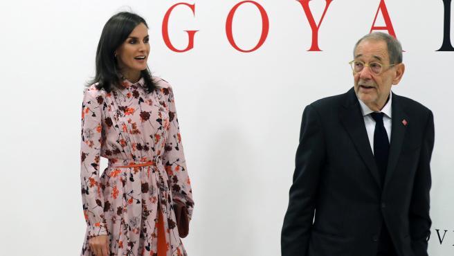 "La Reina Letizia inaugura la exposición ""Solo la voluntad me sobra. Dibujos de Goya"""