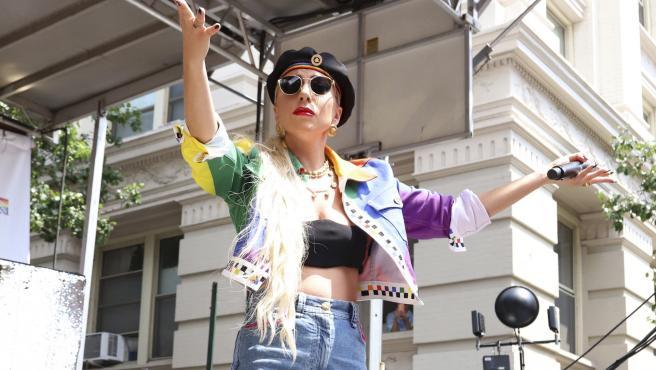 Lady Gaga en una de sus últimas apariciones.