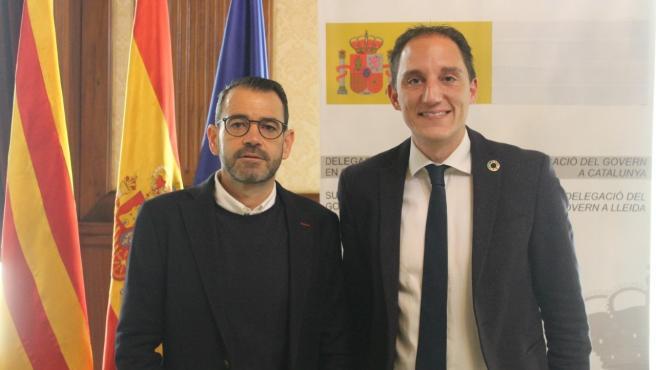 Miquel Molins y José Crespín.