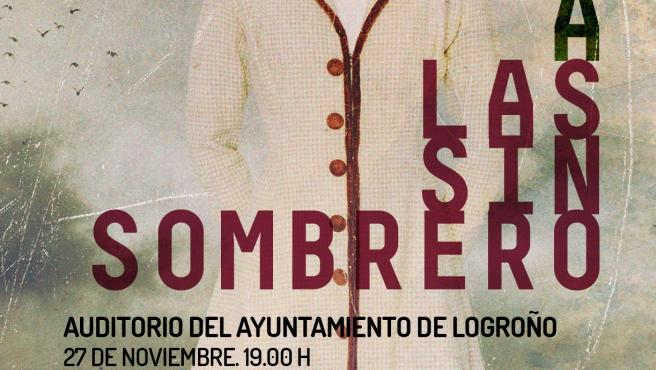 Paco Damas cantará a Las Sinsombrero, por la igualdad y contra la violencia de género, en un concierto previsto en el Auditorio Municipal de Logroño para el día 27.