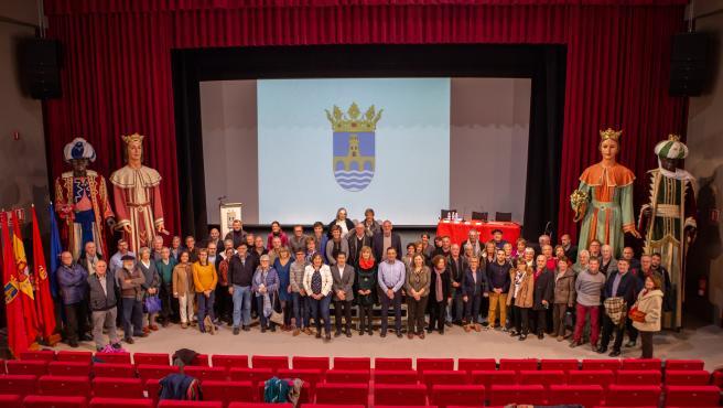 Participantes en el XV Seminario de las dos Navarras