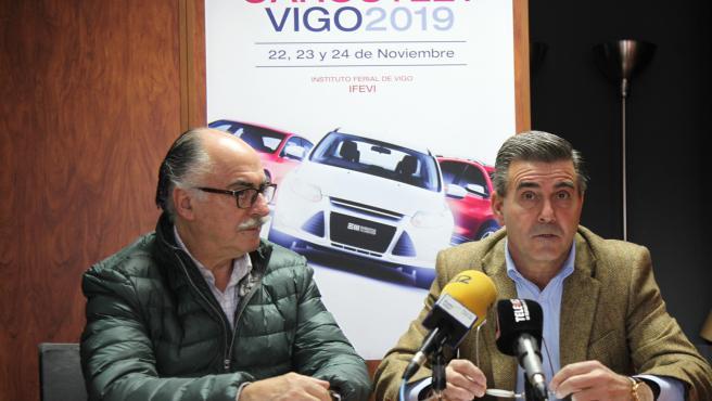 Presentación del VIII Salón CarOulet de Vigo.