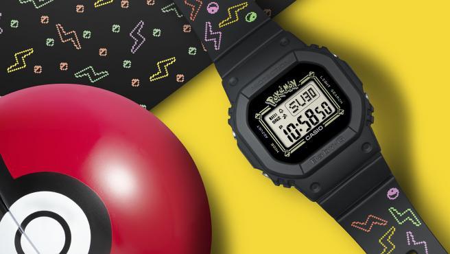 El Casio Baby-G edición especial Pokémon y su Pokébola.