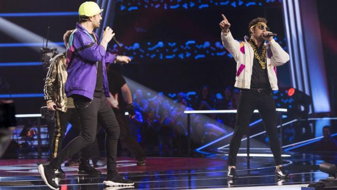 Arkano, en el centro de la polémica por el atuendo de Melendi y Bisbal mientras cantaban el rap de 'El principe de Bel-Air'