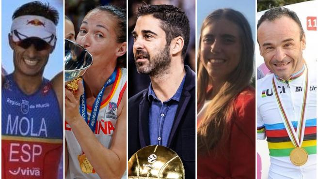 Deportistas españolas premiados con la Medalla de Oro al Mérito Deportivo