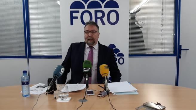 El diputado nacional de Foro Asturias, Isidro Martínez Oblanca.