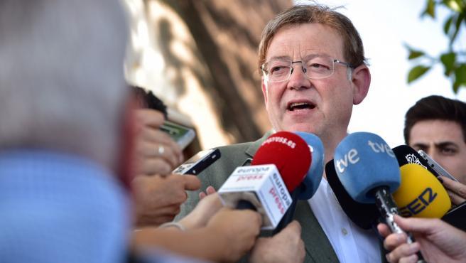 El president de la Generalitat València, Ximo Puig, en una imatge d'arxiu