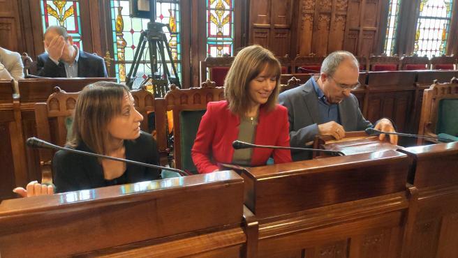 La consejera de Hacienda, Ana Carcaba, comparece en Comisión