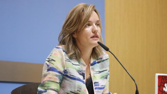 La portavoz del grupo municial del PSOE en el Ayuntamiento de Zaragoza, Pilar Alegría.