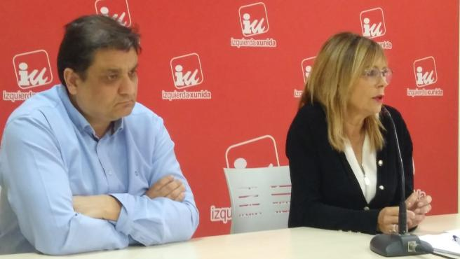 Alejandro Suárez y Ángela Vallina.