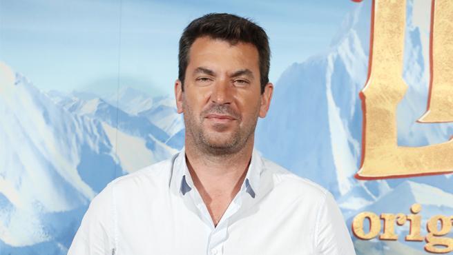 Arturo Valls en la presentación de la película 'Mr. Link'.