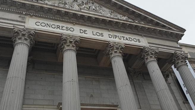 Diputados y senadores de PNV posan en el Congreso
