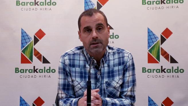 El concejal de Empleo, Cohesión Social y Gestión de la Diversidad del Ayuntamiento de Barakaldo, Juan Antonio Pizarro.