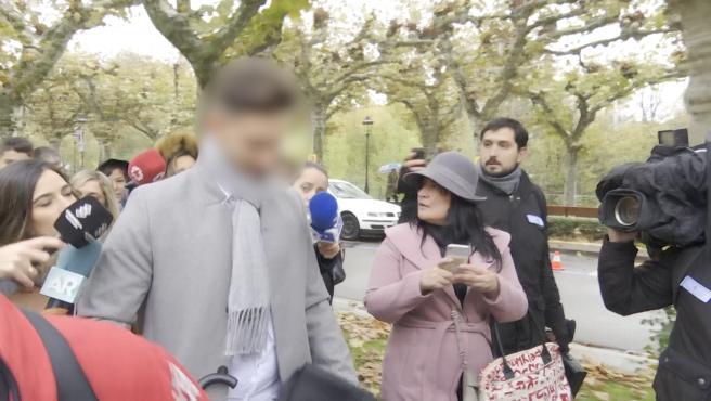 Exjugadores de La Arandina llegan a la Audiencia Provincial de Burgos