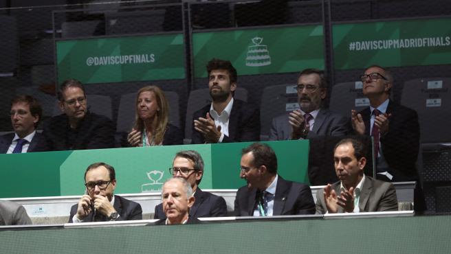 Gerard Piqué, presidente de Kosmos, organizadora de las finales de la Copa Davis.