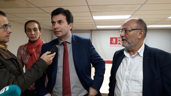 Gonzalo Caballero este jueves en Vigo.
