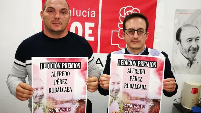 Imagen de la presentación de los Premios Alfredo Pérez Rubalcaba