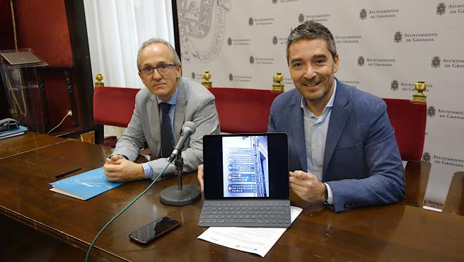 Presentación de un estudio con la UGR para embellecer señales del centro de Granada