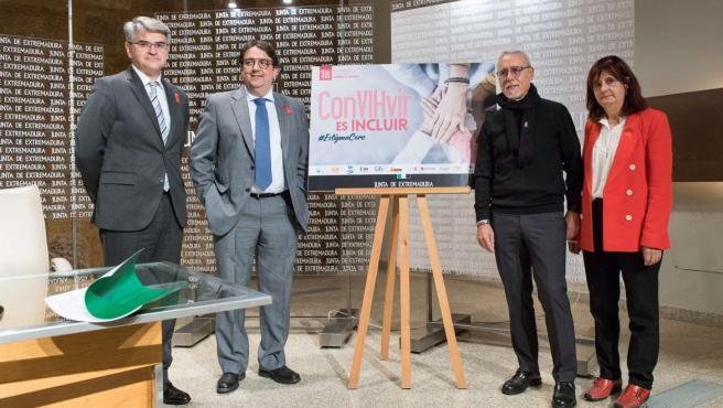 Presentación del Día Mundial del Sida en Extremadura