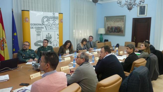 Reunión de coordinación del Plan de Vialidad Invernal en las carreteras estatales de la provincia de Jaén
