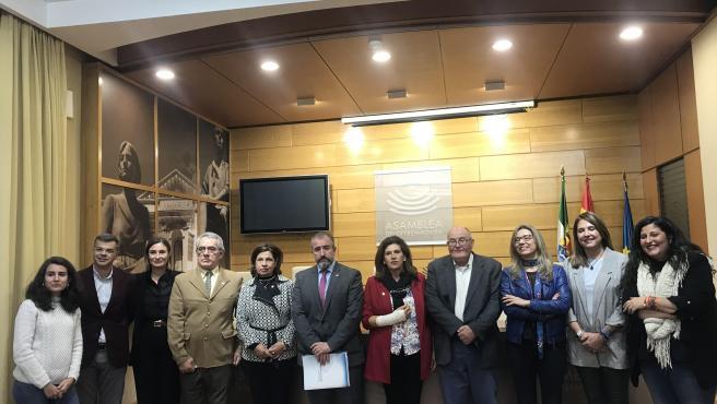 Reunión de la Junta, grupos políticos y asociaciones de víctimas del terrorismo