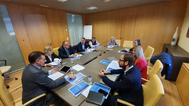 Reunión de Trabajo por el Pacto por la Sanidad en CyL.