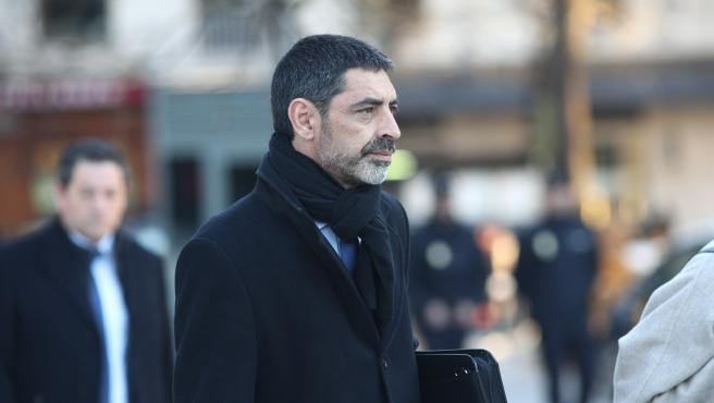Trapero arriba a l'Audiència Nacional per declarar pel procés