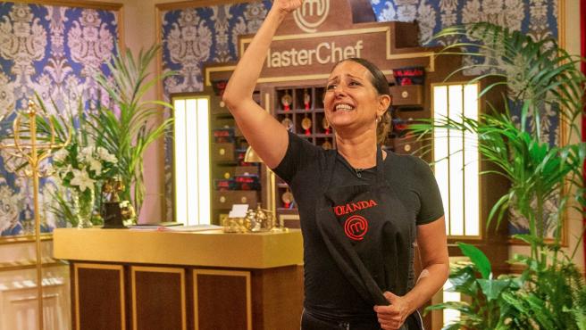 Yolanda Ramos se despide de 'MasterChef Celebrity'.
