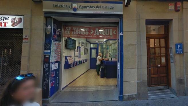 Administración de Loterías de San Sebastián.
