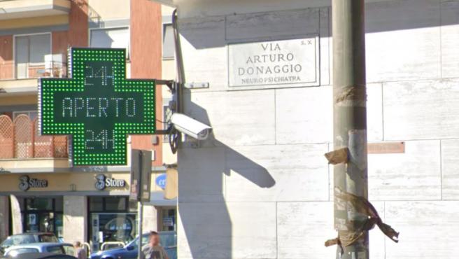 La avenida Arturo Donaggio, en Roma, en una imagen de archivo.