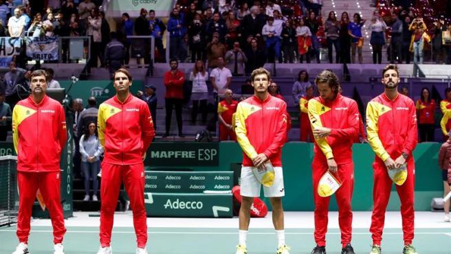 El equipo español de la Davis respeta el hueco de Bautista en los cuartos.