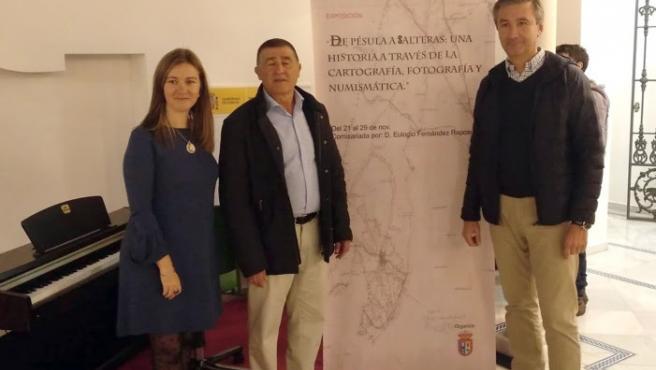 Inmaculada Cotán, Eulogio Fernández Raposo y Antonio Valverde Macías