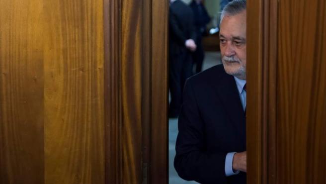 Imagen de archivo del expresidente de la Junta de Andalucía José Antonio Griñán, en el juicio de los ERE.