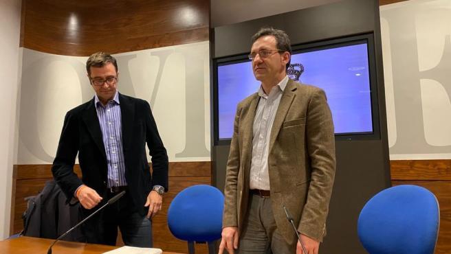José Luis Costillas y Javier Cuesta.