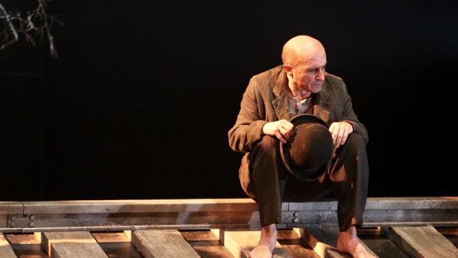 Pepe Viyuela da vida a Estragón, uno de los míticos protagonistas de 'Esperando a Godot' de Samuel Beckett