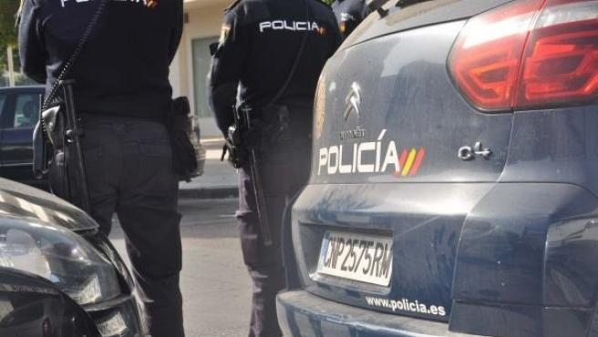 Una imagen de archivo de la Policía Nacional. Coche policial 11/13/2019