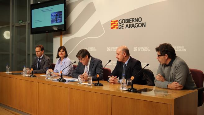 Presentación de la estrategia de Aragón para la promoción del sector de la nieve.