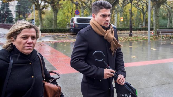 Raúl Calvo, exjugador de la Arandina acusado de agresión sexual a una menor.