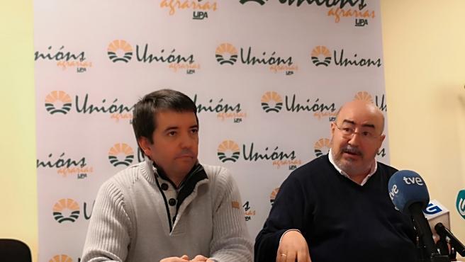 Roberto García (UU.AA.), a la derecha