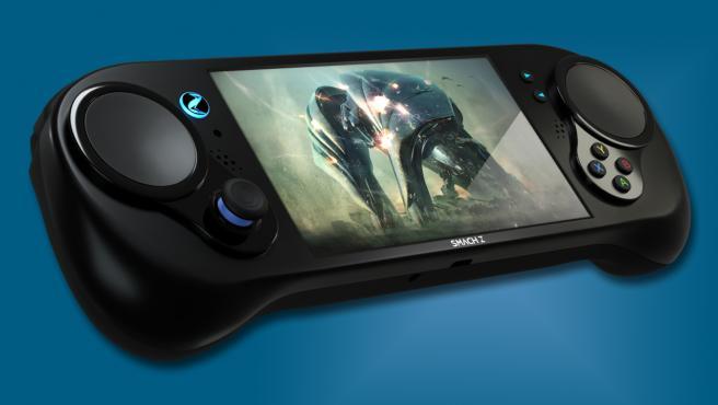Smach Z, la consola portátil más potente del mundo, está fabricada en España.