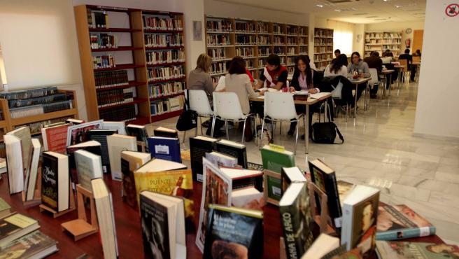 Biblioteca de Los Boliches en Fuengirola