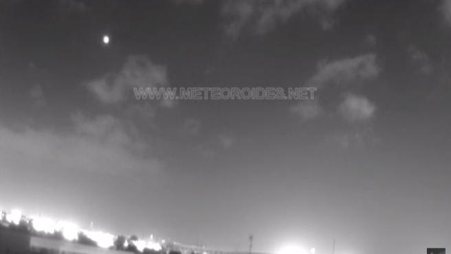 Bola de fuego vista sobre Sevilla, Huelva y Badajoz este 22 de noviembre.