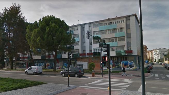 Imagen de la calle María Isabel de Larrañaga, en Burgos.