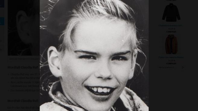 Claudia Ruf, niña alemana asesinada en 1996.